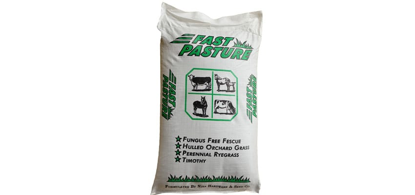 Fast Pasture Mix, Perennial Grass Seed