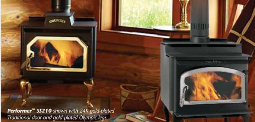 Lennox Performer™ ST210 and SS210 - Lennox Stoves – Seed – Pellet Stoves – Wood Stoves – Lawn Mowers