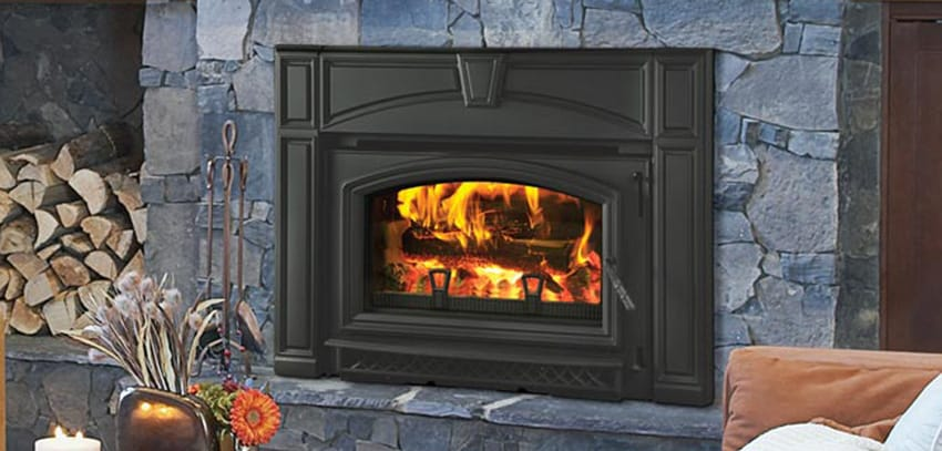 Classic Black - Quadra-Fire Voyageur Wood Stove Insert €� Seed €� Pellet Stoves